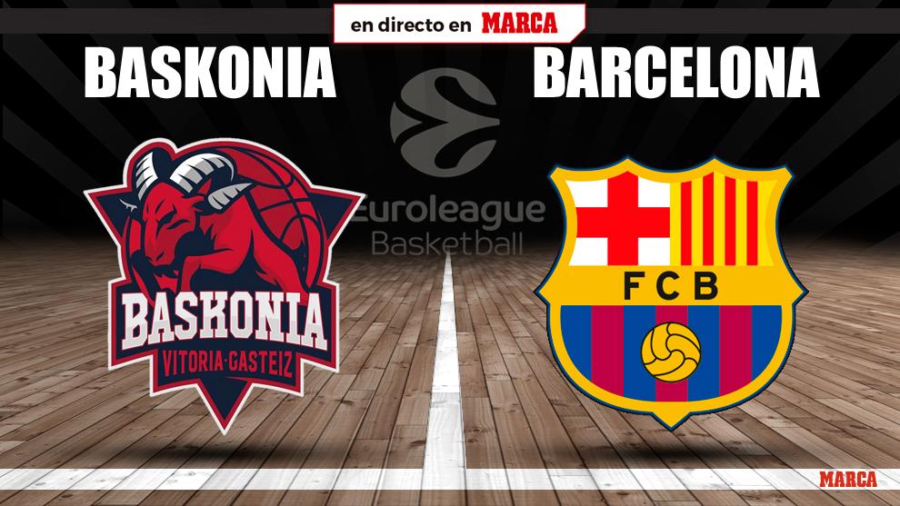 Baskonia - Barcelona: horario y donde ver hoy por TV el partido de la...