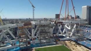 Parece una película de Hollywood: así te enseña el Madrid su espectacular nuevo Bernabéu