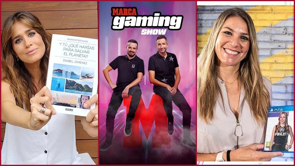 Isabel Jiménez y Nira Juanco, invitadas en MARCA Gaming Show