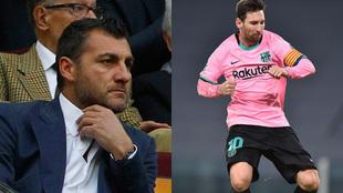 Christian Vieri and Lionel Messi.