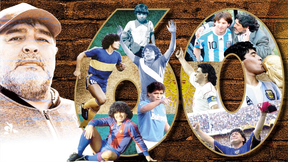 Maradona 60 años