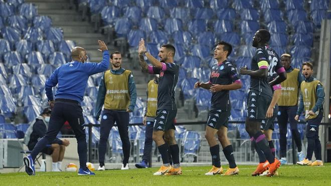 Real Sociedad vs Napoli: El Napoli del Chucky Lozano recupera terreno en la  Europa League tras vencer a la Real Sociedad | MARCA Claro México