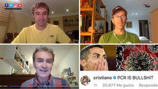 """'Recadito' de Fernando Simón a Cristiano Ronaldo: """"Ahora resulta que es un experto en PCRs"""""""