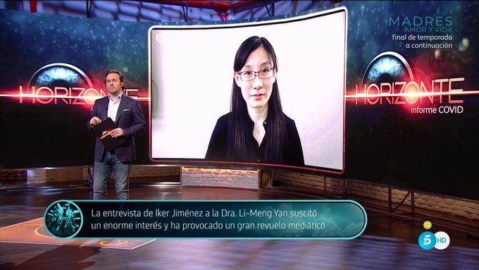 Iker Jimenez, Li-Meng Yan, Informe Covid, Horizonte