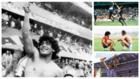 Montaje con alguno de los mejores momento de Maradona