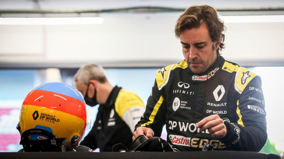 Fernando Alonso volverá a enfundarse el mono de Renault.