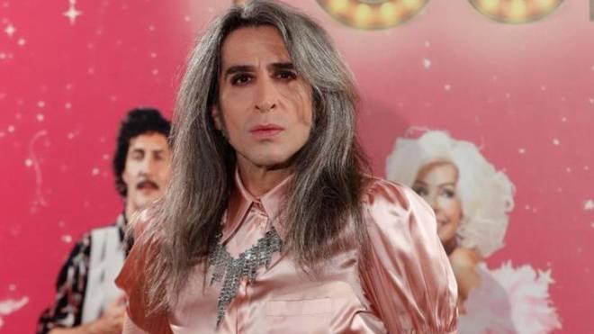 Mario Vaquerizo, protagonista de ''La última tourné'', posa en el...