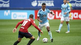Renato Tapia en el partido de LaLiga entre el Celta de Vigo y el...
