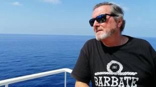 J.J. Benítez, en el crucero 'Costa Deliziosa'