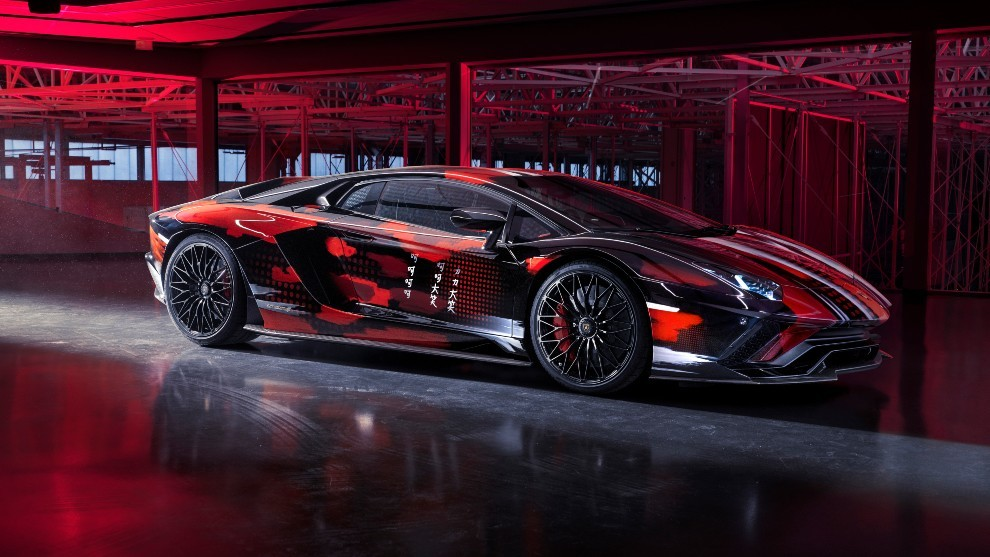 Lamborghini Esto Es Lo Que Pasa Cuando Dejas Un Lamborghini Aventador A Un Artista Japones Marca Com