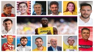Bolt, Alonso, Pau, Casillas, Indurain, Iniesta... arranca el MARCA Sport Weekend