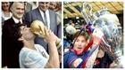 Maldini elige: ¿Maradona o Messi?
