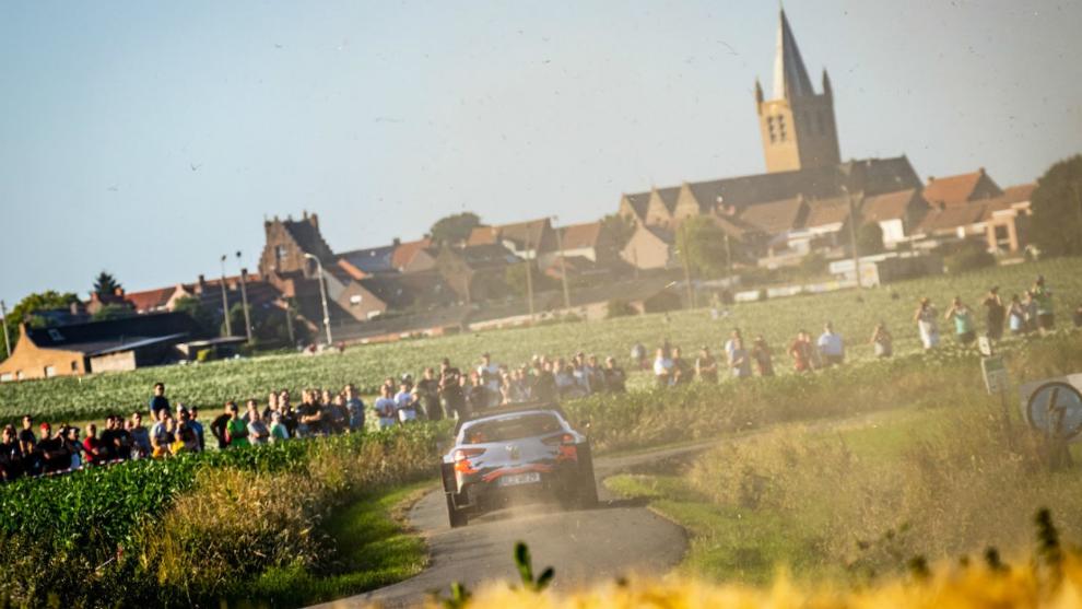 Bélgica iba a acoger por primera vez un rally del Mundial dentro de...