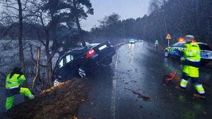 Dos 'detectives' del Centro de Seguridad de Volvo toman...