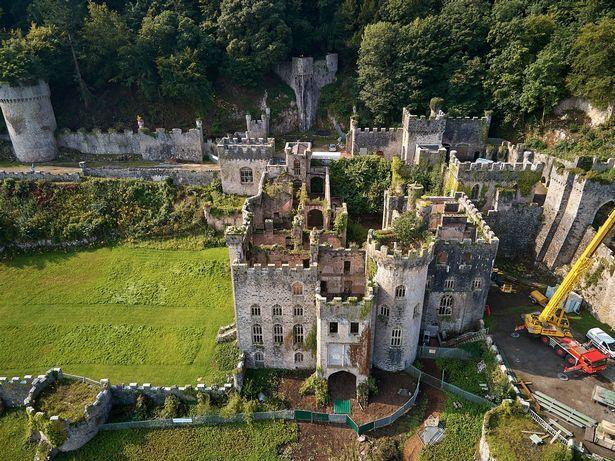 Una imagen del castillo donde se desarrollará el reality.