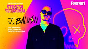 J Balvin dará un concierto exclusivo a los usuarios de Fortnite