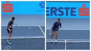 De locos: así fue la humillación del desconocido Sonego... ¡al número 1 Djokovic!
