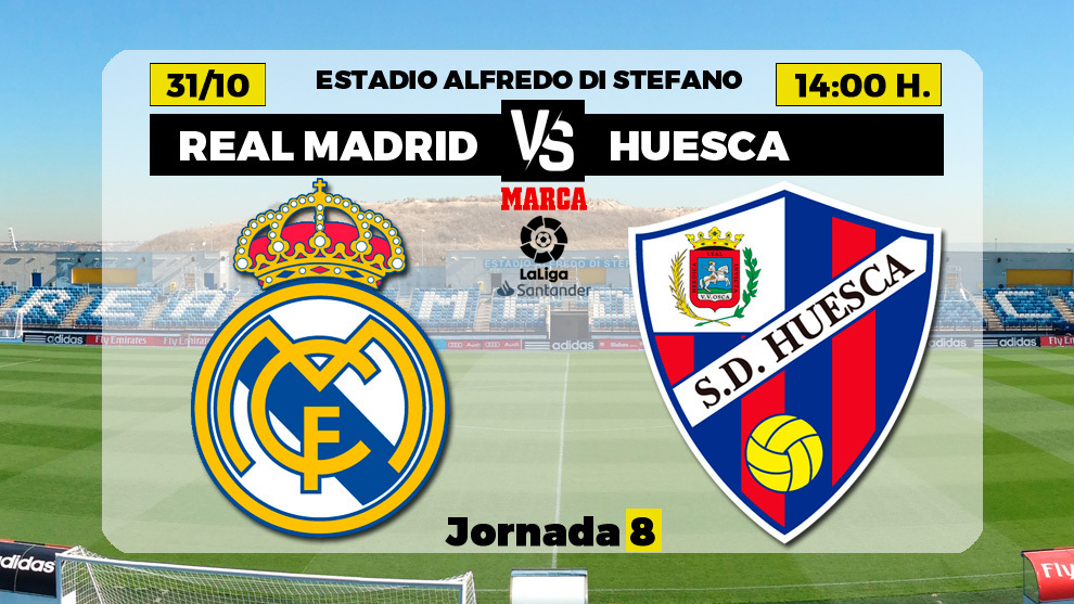 Real Madrid contre Huesca