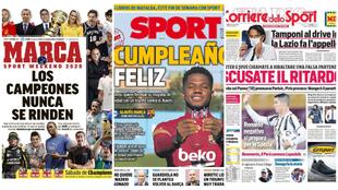 Las portadas del día: el equipazo del MSW, Benzema y Vinícius, los 18 de Ansu Fati...