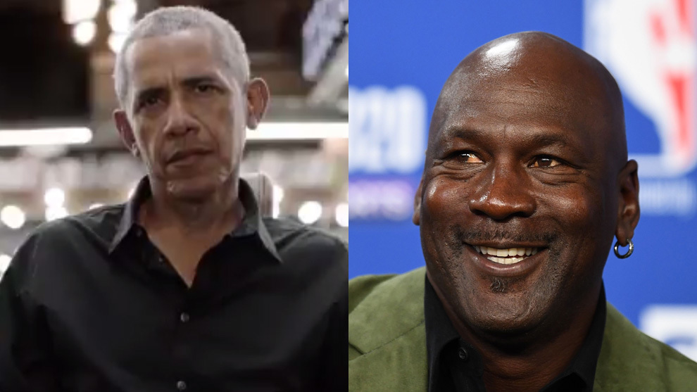 """El dardo de Obama a Jordan """"por pensar en términos de dinero"""" mientras alaba a LeBron"""