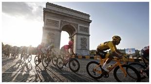 Última etapa del Tour de Francia.