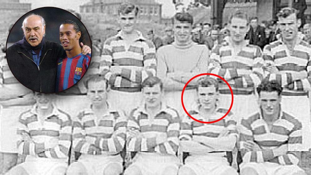 Muere Sean Connery: el día que pudo jugar en el Manchester United