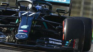 Bottas, en la clasificación del GP de Emilia Romagna.