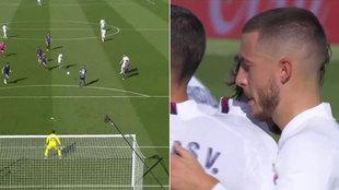 El golazo de Hazard que revolucionó al madridismo, pero... ¿por qué no lo celebró?