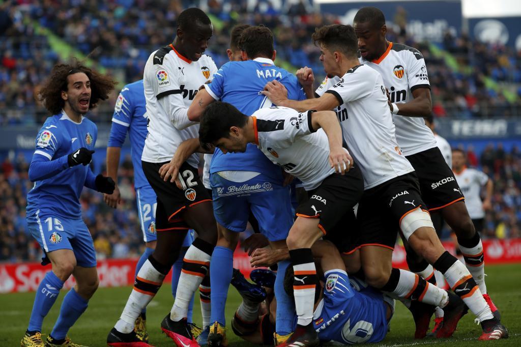 Valencia - Getafe: Valencia - Getafe: Demasiado cerca del pozo   Marca