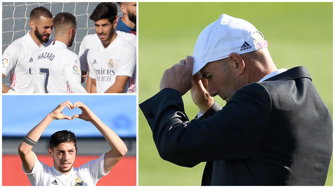 Zidane is preparing for the Inter match