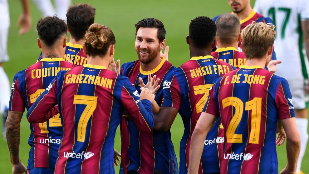 Fc Barcelona La Liga Barcelona Players Ask For Guarantees Regarding Salary Reduction Marca In English