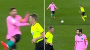 """""""Messi debió ver roja directa, quiso intimidar al árbitro lanzándole el balón"""""""