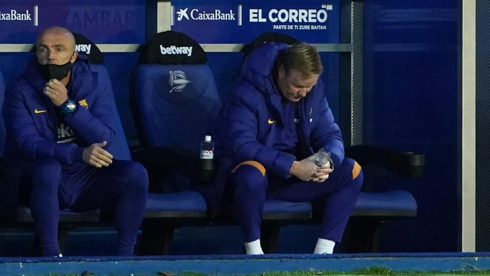 Koeman: I'm worried about Barcelona's attacking output