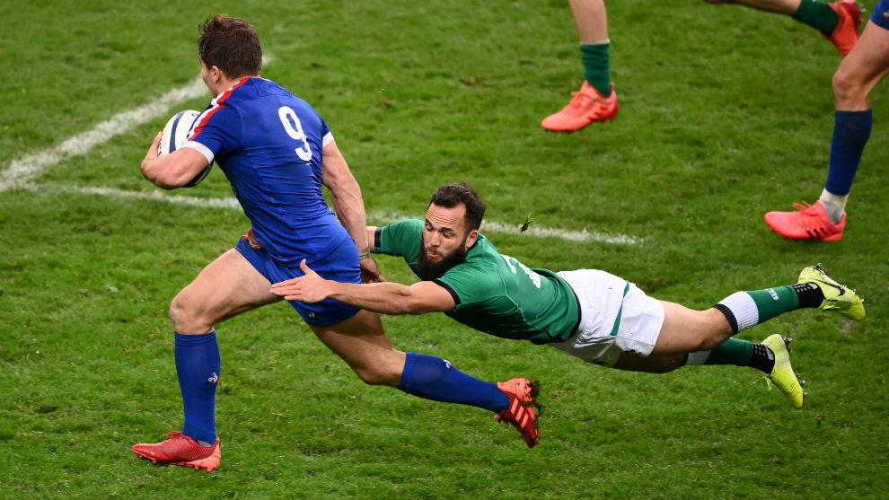 Francia venció a Irlanda, luchó por el VI Naciones pero le faltó tiempo
