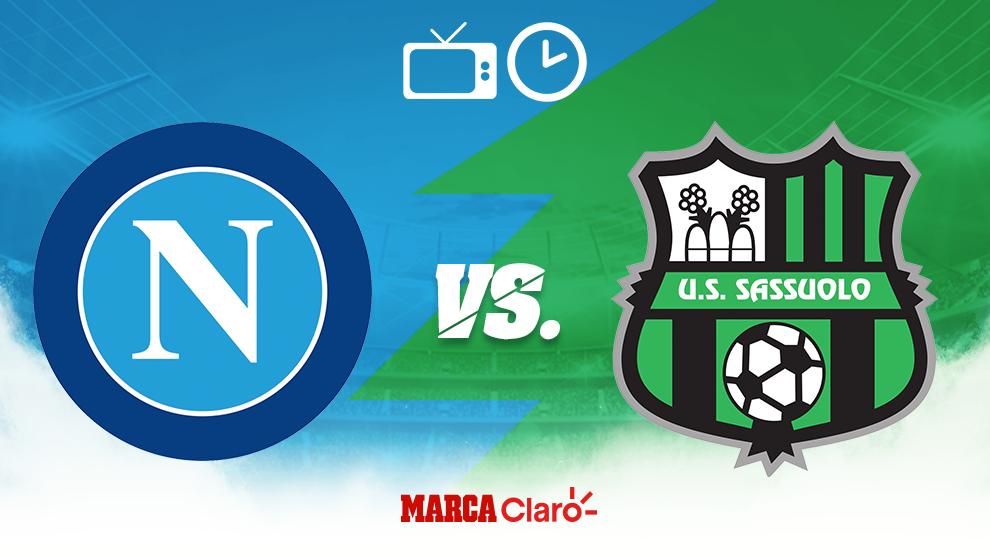 Partidos De Hoy Napoli Vs Sassuolo Horario Y D U00f3nde Ver