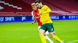 Ajax goleó a Fortuna Sittard para confirmarse como líder de la...