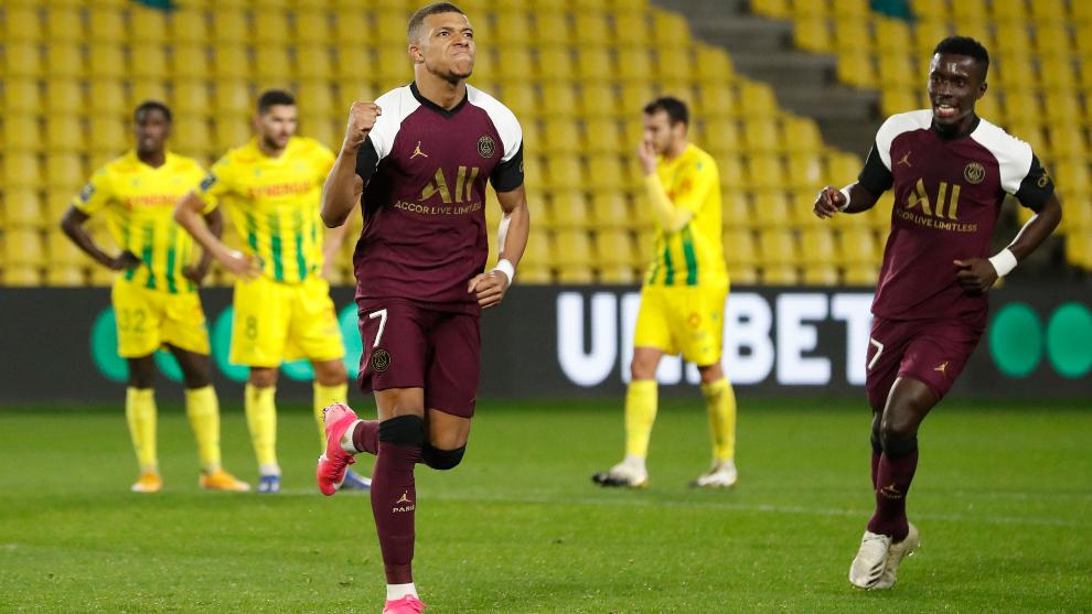 Nantes vs PSG: Kylian Mbappé guía al PSG en su quinta victoria consecutiva  en Ligue 1 - Ligue 1