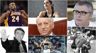 Siempre en nuestros corazones: los deportistas que nos han dejado este año