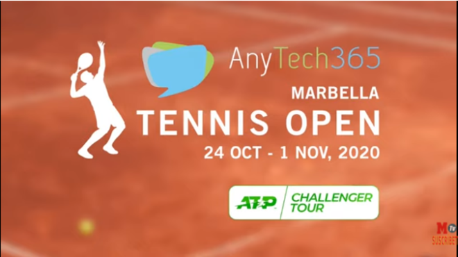 El AnyTech365 Marbella Tennis Open, en directo la final con señal de TV