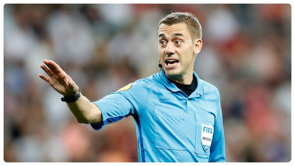 Clement Turpin to referee Real Madrid vs Inter