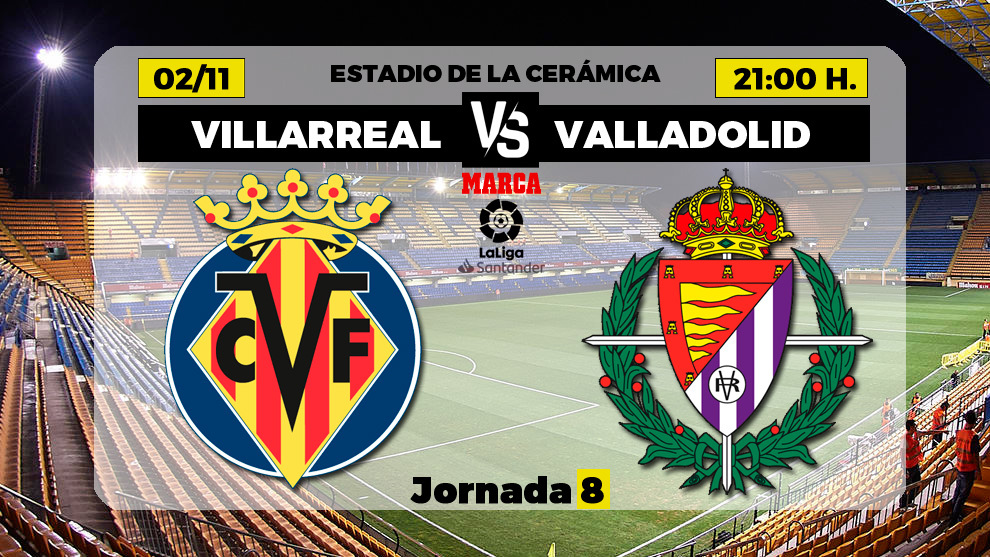 Villarreal - Valladolid: horario y dónde ver en directo por TV el partido de la jornada 8 de Primera División