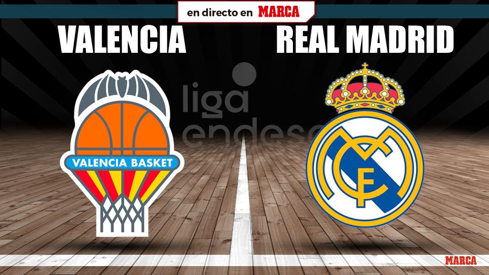Valencia Basket - Real Madrid en directo