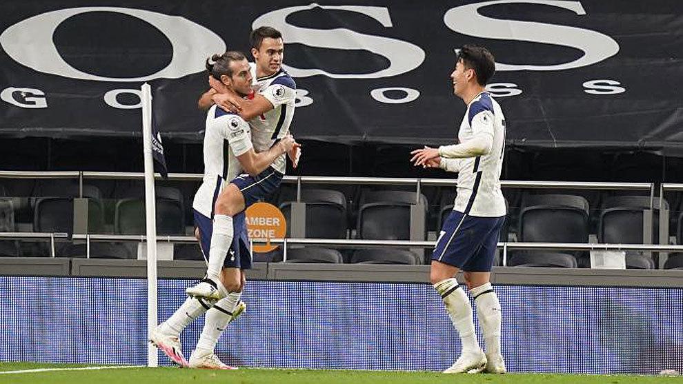 Bale rescata al Tottenham... a pase de Reguilón