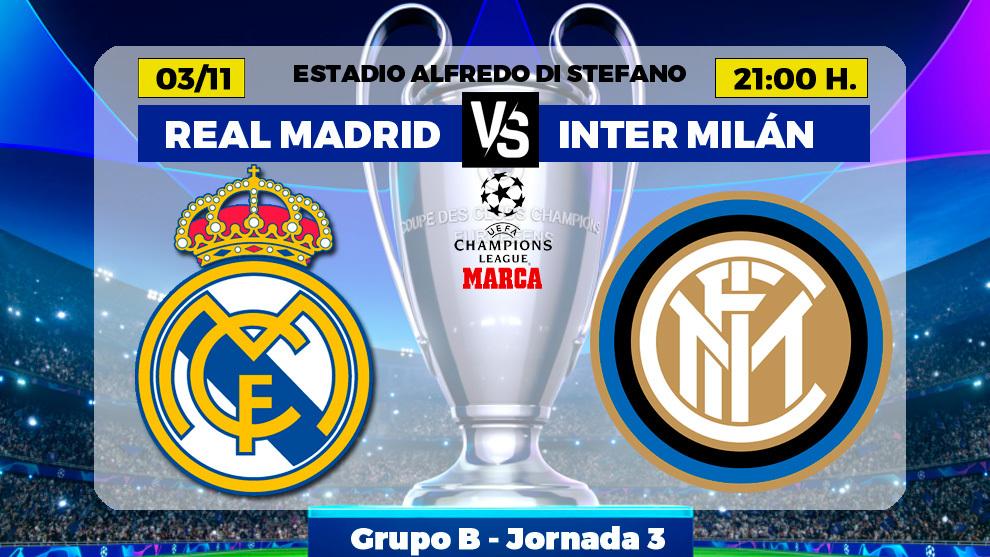 Real Madrid-Inter: eliminatoria a ida y vuelta