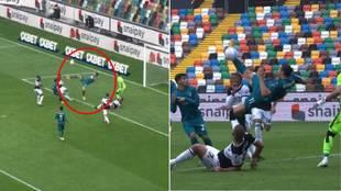 Así destroza Ibrahimovic la Serie A: espectacular golazo de chilena en el minuto 82