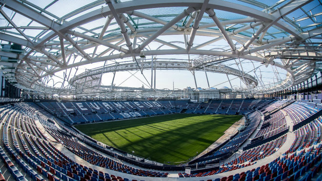 Levante: Cuenta atrás para el nuevo Ciutat de Valencia: el césped ya se  asienta | Marca