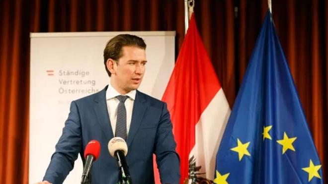 Sebastian Kurz, canciller austriaco