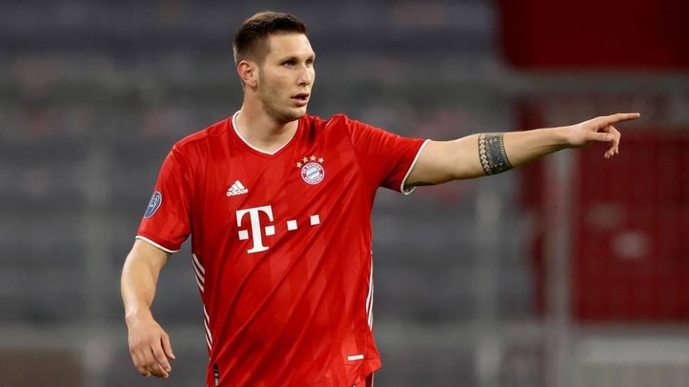 Niklas Süle, positivo en coronavirus será baja ante el Salzburgo