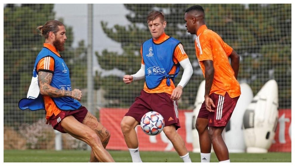 Ramos, Kroos y Vin