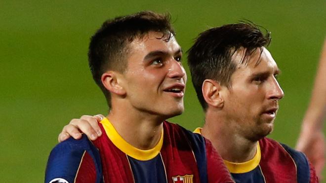 Pedri and Leo Messi.